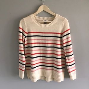 Old Navy striped loose-fitting sweater
